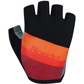 Roeckl Ticino Gloves Kids, zwart/oranje